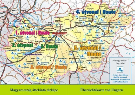 magyarország térkép herend Via Pannónia Kft.   Aktív pihenés és gyógyturizmus Magyarországon  magyarország térkép herend